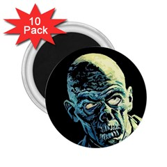 Zombie 2 25  Magnets (10 Pack)  by Valentinaart