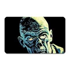 Zombie Magnet (rectangular) by Valentinaart