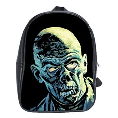 Zombie School Bag (xl) by Valentinaart