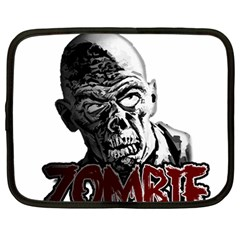 Zombie Netbook Case (large) by Valentinaart