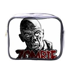 Zombie Mini Toiletries Bags by Valentinaart