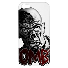 Zombie Apple Iphone 5 Hardshell Case by Valentinaart