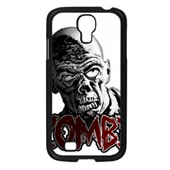 Zombie Samsung Galaxy S4 I9500/ I9505 Case (black) by Valentinaart