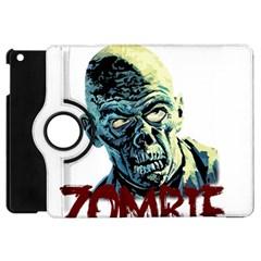 Zombie Apple Ipad Mini Flip 360 Case by Valentinaart