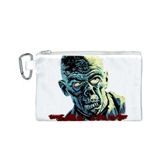 Zombie Canvas Cosmetic Bag (s) by Valentinaart