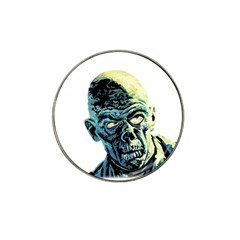 Zombie Hat Clip Ball Marker (4 Pack) by Valentinaart