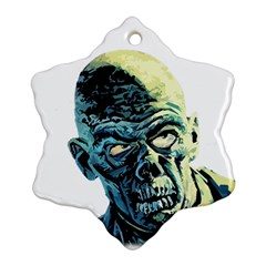 Zombie Ornament (snowflake) by Valentinaart