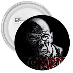Zombie 3  Buttons by Valentinaart