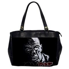 Zombie Office Handbags by Valentinaart