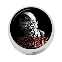 Zombie 4 Port Usb Hub (one Side) by Valentinaart