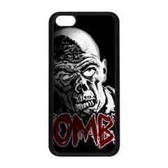Zombie Apple Iphone 5c Seamless Case (black) by Valentinaart