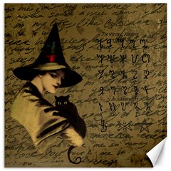Witchcraft Vintage Canvas 20  X 20   by Valentinaart
