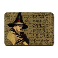 Witchcraft Vintage Small Doormat  by Valentinaart