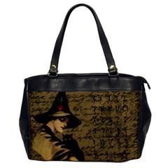 Witchcraft Vintage Office Handbags by Valentinaart