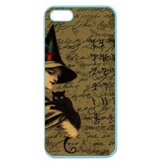 Witchcraft Vintage Apple Seamless Iphone 5 Case (color) by Valentinaart