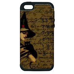 Witchcraft Vintage Apple Iphone 5 Hardshell Case (pc+silicone) by Valentinaart