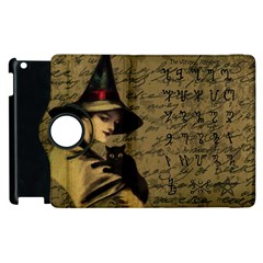 Witchcraft Vintage Apple Ipad 3/4 Flip 360 Case by Valentinaart