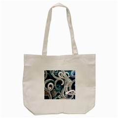 Spiral Glass Abstract  Tote Bag (cream) by amphoto