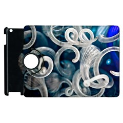 Spiral Glass Abstract  Apple Ipad 3/4 Flip 360 Case by amphoto