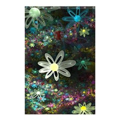 Flowers Fractal Bright 3840x2400 Shower Curtain 48  X 72  (small)  by amphoto