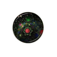 Shapes Circles Flowers  Hat Clip Ball Marker (4 Pack) by amphoto