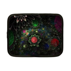 Shapes Circles Flowers  Netbook Case (small)  by amphoto