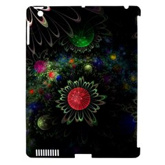 Shapes Circles Flowers  Apple Ipad 3/4 Hardshell Case (compatible With Smart Cover) by amphoto