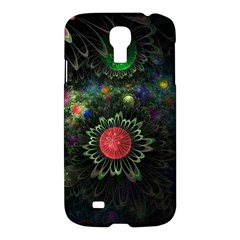 Shapes Circles Flowers  Samsung Galaxy S4 I9500/i9505 Hardshell Case by amphoto