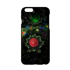 Shapes Circles Flowers  Apple Iphone 6/6s Hardshell Case by amphoto