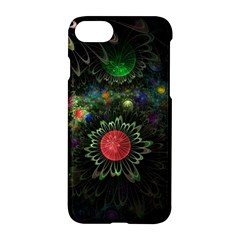 Shapes Circles Flowers  Apple Iphone 7 Hardshell Case by amphoto