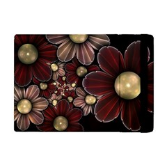 Flower Background Line Apple Ipad Mini Flip Case by amphoto