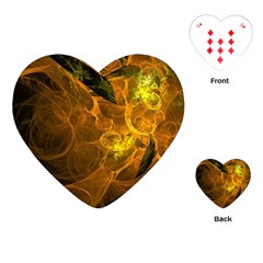 Spot Background Dark  Playing Cards (heart)  by amphoto