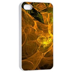 Spot Background Dark  Apple Iphone 4/4s Seamless Case (white) by amphoto