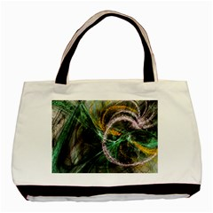 Connection Background Line Basic Tote Bag by amphoto