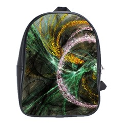 Connection Background Line School Bag (xl) by amphoto