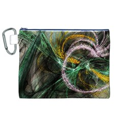 Connection Background Line Canvas Cosmetic Bag (xl) by amphoto