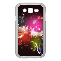 Plant Patterns Colorful  Samsung Galaxy Grand Duos I9082 Case (white) by amphoto