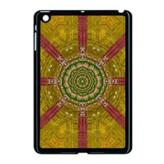 Mandala In Metal And Pearls Apple Ipad Mini Case (black) by pepitasart