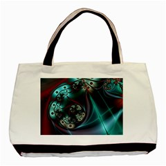 Rotation Patterns Lines  Basic Tote Bag (two Sides)