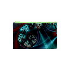 Rotation Patterns Lines  Cosmetic Bag (xs) by amphoto