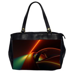 Line Figure Background  Office Handbags (2 Sides)  by amphoto
