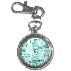 Belicious World Curvy Girl Wordle Key Chain Watches by beliciousworld