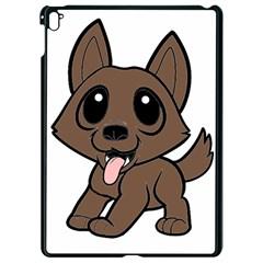 Norwich Terrier Cartoon Apple Ipad Pro 9 7   Black Seamless Case