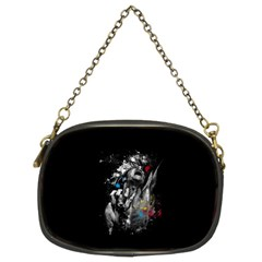 Man Rage Screaming  Chain Purses (two Sides)  by amphoto