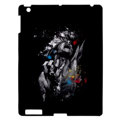 Man Rage Screaming  Apple Ipad 3/4 Hardshell Case by amphoto