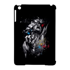Man Rage Screaming  Apple Ipad Mini Hardshell Case (compatible With Smart Cover) by amphoto