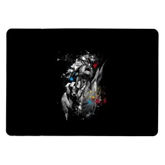 Man Rage Screaming  Samsung Galaxy Tab 10 1  P7500 Flip Case by amphoto