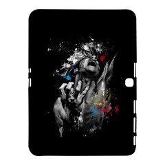 Man Rage Screaming  Samsung Galaxy Tab 4 (10 1 ) Hardshell Case  by amphoto