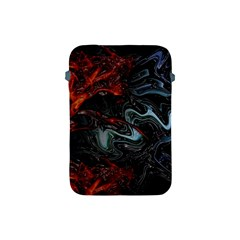 Lines Curves Background  Apple Ipad Mini Protective Soft Cases by amphoto