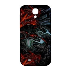 Lines Curves Background  Samsung Galaxy S4 I9500/i9505  Hardshell Back Case by amphoto